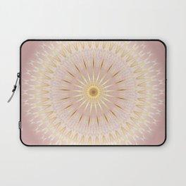 Gold Rose Mandala Laptop Sleeve
