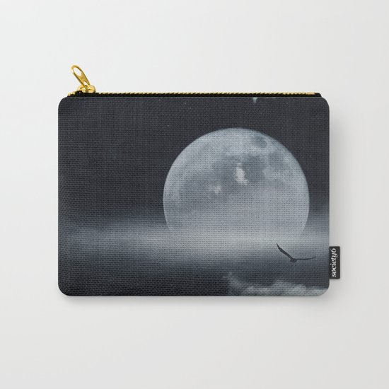 moon-lit ocean Carry-All Pouch