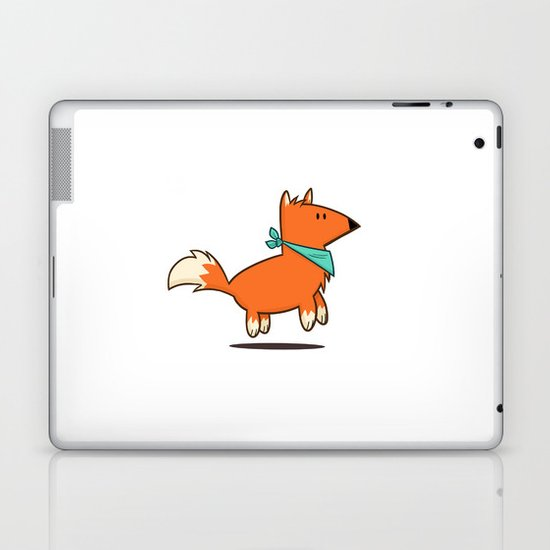 Fox Hop Laptop & iPad Skin