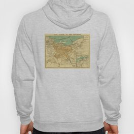 Vintage Map of Oran Algeria (1913) Hoody
