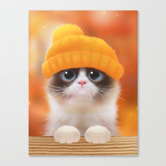 Shui The Kitten Canvas Print