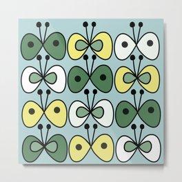simply butterfly pattern Metal Print