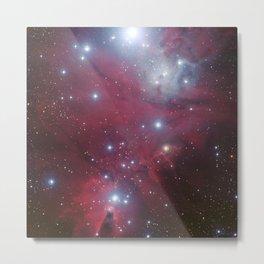 Nebula galaxy unicorn star constellation NASA space stars geek sci fi star landscape photo Metal Print