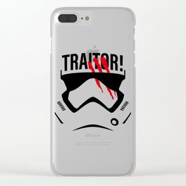 Traitor! Clear iPhone Case