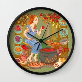Jamming with Pectin Wall Clock