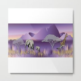 Elephantland No. 2 Metal Print