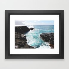 Kauai Tidal Pool Framed Art Print