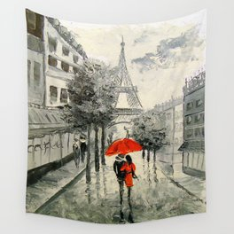 Paris Paris Wall Tapestry