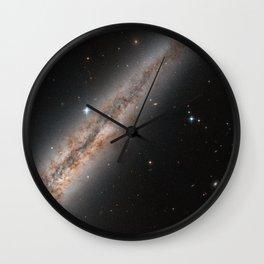 Spiral Galaxy NGC 891 Wall Clock
