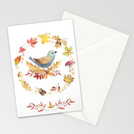 Welcome Back Autumn Stationery Cards