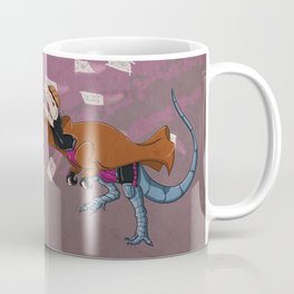 Gambilophosaurus - Superhero Dinosaurs Series Coffee Mug