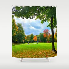 Greenfields Shower Curtain