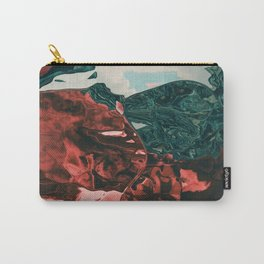 Color of the day is red Carry-All Pouch