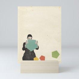 Discovering New Shapes Mini Art Print