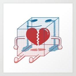 Little Box of Broken Heart Art Print