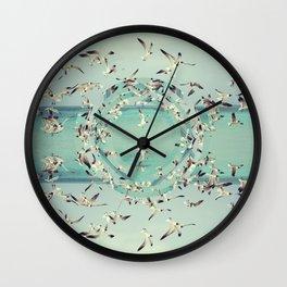Flight.  Wall Clock