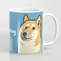 doge Mugs featuring Doge by evannave