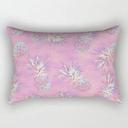 Pink Pineapple Pattern Rectangular Pillow