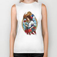 bioshock infinite Biker Tanks featuring BioShock Infinite by Little Lost Forest