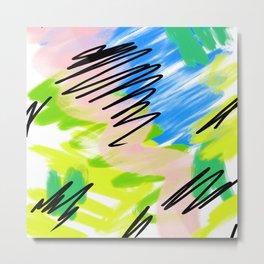 Colour Perform Metal Print