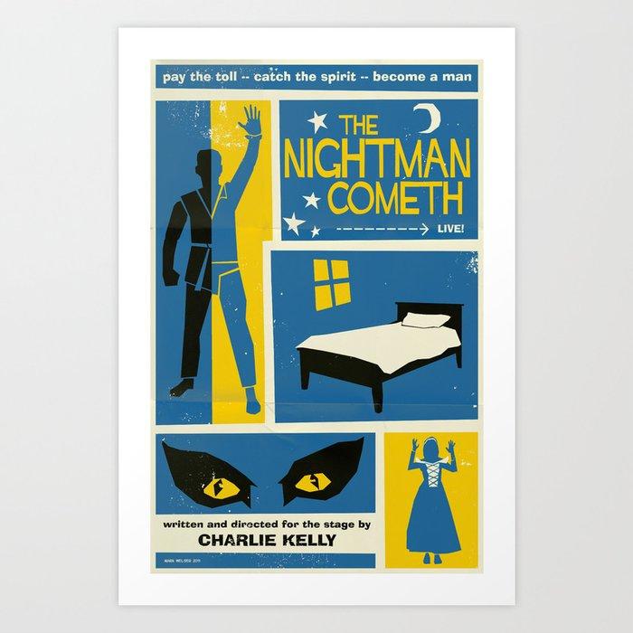 The Nightman Cometh Kunstdrucke