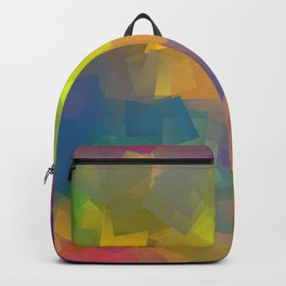 Abstract cubism -2- Backpack