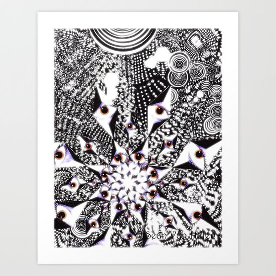 """""""Complexity Of Nature"""" Art Print"""
