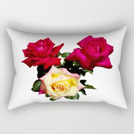 Rose Bouquet Rectangular Pillow