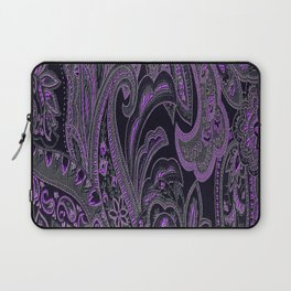 Paisley 10 Purple Laptop Sleeve