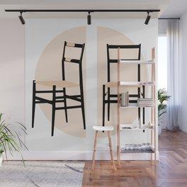 Superleggera Mid-Century chair Wall Mural