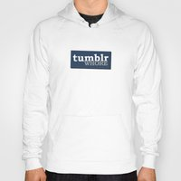 tumblr Hoodies featuring Tumblr Whore by nZ.Design