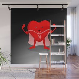 Super Hearty Wall Mural