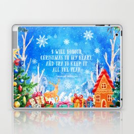 I will honour christmas in my heart Laptop & iPad Skin