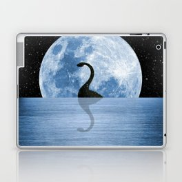 Nessie Starry Night - Loch Ness Monster Laptop & iPad Skin