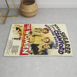 Classic Movie Poster - The Women Rug