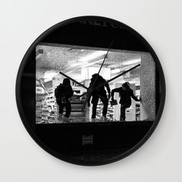 Looting NYC 2020 Wall Clock