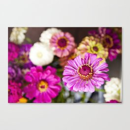 Floral II  /  The Fresh Flower Collection Canvas Print