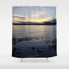Late Sunset Shower Curtain