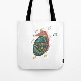 Simple Things Make Me Happy Tote Bag