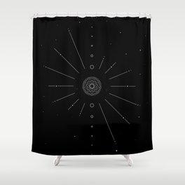 Stellar Evolution Shower Curtain