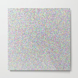 Every Color 127 Metal Print