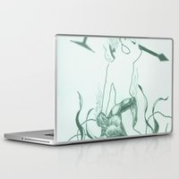 hell Laptop & iPad Skins featuring Hell by Robert Cooper