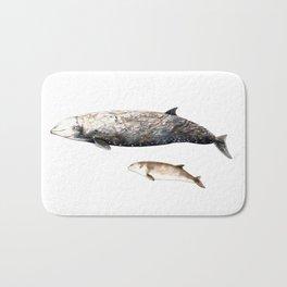 Cuvier´s beaked whale Bath Mat