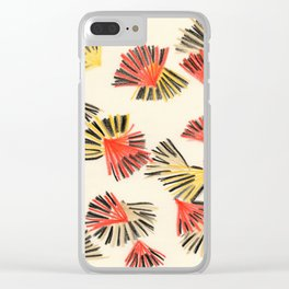 Starburst in Flame Clear iPhone Case
