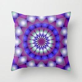 Mandala G221 Throw Pillow