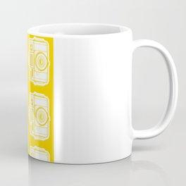 I Still Shoot Film Holga Logo - Reversed Yellow Coffee Mug