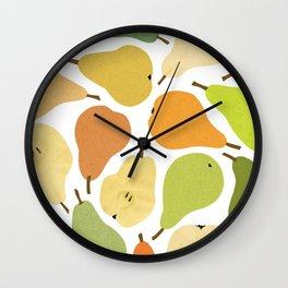 Dream pears Wall Clock
