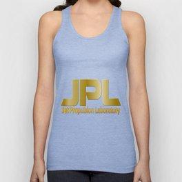 Jet Proulsion Laboratory:  50th Anniversary Logo Unisex Tank Top
