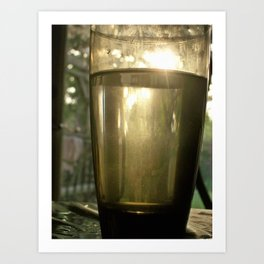Tall drink of water Art Print