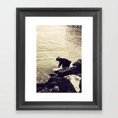 Fisherman at Sausalito Framed Art Print